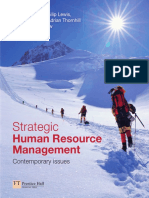 Strategic Human Resource Management Contemporary Issues