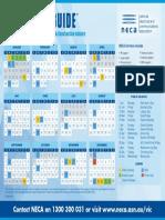 Calendar - Neca Rdo 2018