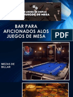Bar Para Aficionados Alos Juegos de Mesa