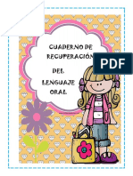 Cuaderno de Ejercicios de Lenguaje