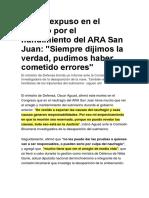 Hundimiento del ARA San Juan