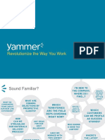 Yammer Funding Pitch Deck