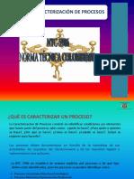Caracterización de procesos en SGC