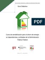 Curso de Sensibilización Para El Ahorro de Energía APF 2012