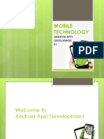 Mobile Technology Day#1