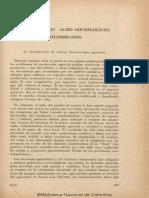 Experimentos Agro-Sociológicos colombianos