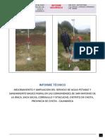 Informe Geodesico - Chota