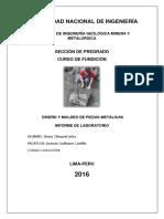 1er Informe de Fundicion
