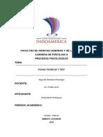 Procesos Psicologicos (Fichas Tecnicas y Test)