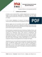 Morena respalda a magistrado que propone anular elección en Puebla; PAN acudirá a instancias internacionales
