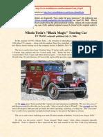 Nikola Tesla's Black Magic Touring Car