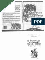 Pérez de Polacino & León (2010). El Cuestionario Desiderativo Aplicado a Niños