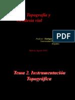 Instrumentacion de topografia