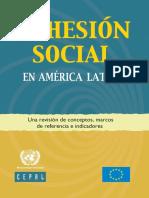 cohesión social