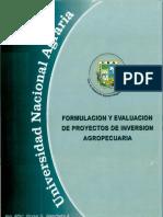 Formulacion y Evaluacion de Proyectos de Inversion Agropecuaria