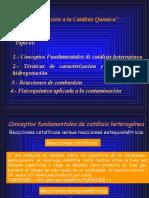 9 Generalidades en CatálisisS