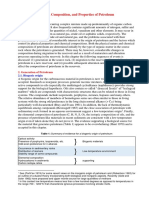Origin Composition Properties Petroleum