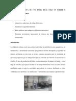 Diseño de Una Bahia de Trabajo-manual