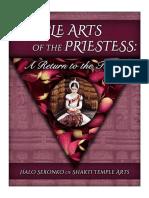 temple arts priestess