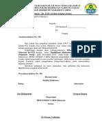 Surat Undangan Ke SMA Fakultas