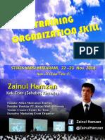 Training Organization Skill