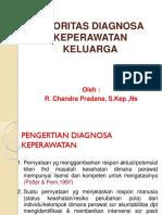 DIAGNOSA KEPERAWATAN KELUARGA Dan Prioritas Diagnosa Keperawatan 2016