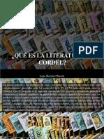 Lope Hernán Chacón - ¿Qué Es La Literatura de Cordel?