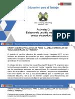 3. Elaboración de Micrositio Costos de Producción