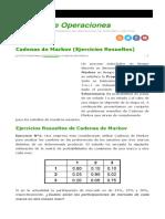 363623530 Cadenas de Markov Ejercicios Resueltos 1 8 1 6