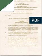 ley de otorgacion de personalidades juridicas