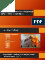 Sistemas de Extinción de Incendios Para Cocinas Industriales