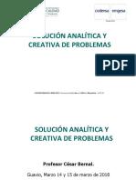Solución analítica y creativa de problemas -ENEL-