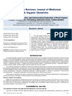 Synthesis Characterization and Antimicrobial Evaluation of Novel Organophospho Carbamates Containing Imidazole Ureascarboxamides