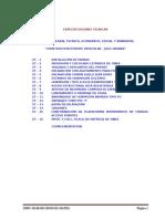 Especificaciones Tecnicas Puentes Mateo