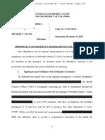 US V Michael Flynn 1:17 Addendum to government's memorandum in aid of sentencing