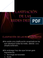 Clasifiación de Redes Espo Km13