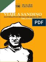 Araujo Orlando. Viaje a Sandino. Nicaragua 1985.