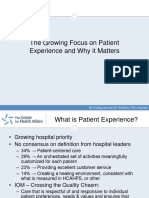Patient Experience PPT