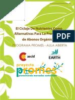 El Ciclaje de Nutrientes Como Alternativas Para La Producción de Abonos Orgánicos - AECID UNIV EARTH