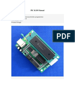 PIC K150 Programmer Manual