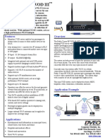 Public Venue RF VOD III Datasheet