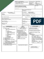 SENA FORM 1 SeNA Application Form