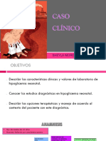 CASO CLINICO Sociedad Pediatria