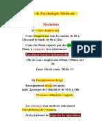 0-Enseignement de Psychologie Médicale