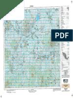 Carta Topográfica Zamora