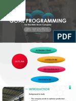 88340091 Optimasi Produksi Dengan Goal Programming
