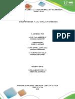 Implementación de Planes de Manejo Ambiental Fase 1