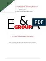 corporate employee gift matching proposal - google docs