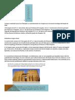 Canopus Orientado Hacia El Sur Festejaba Su Nacimienmiento en El Equinoccio d EveranoCronología Del Templo de Edfu