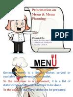 Menu Presentation ORIGINAL